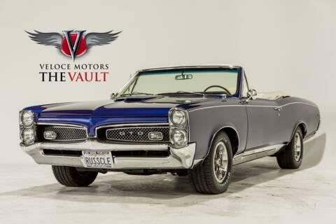 1967 Pontiac GTO for sale at Veloce Motorsales in San Diego CA