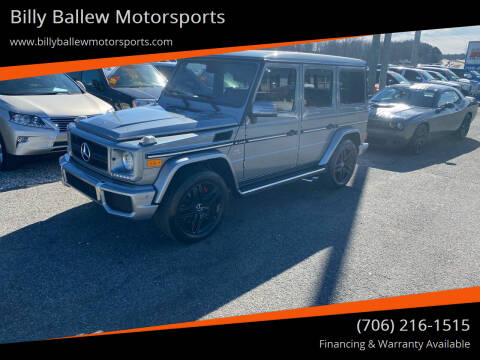 2013 Mercedes-Benz G-Class for sale at Billy Ballew Motorsports in Dawsonville GA