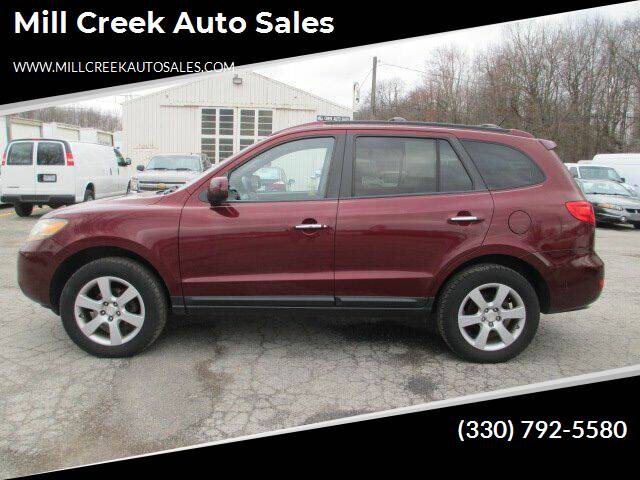 2009 Hyundai Santa Fe for sale at Mill Creek Auto Sales in Youngstown OH