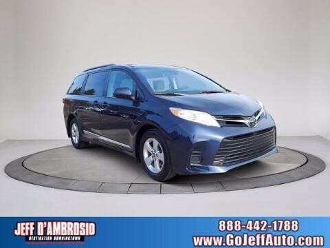 2018 Toyota Sienna for sale at Jeff D'Ambrosio Auto Group in Downingtown PA