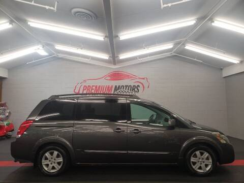 2004 Nissan Quest for sale at Premium Motors in Villa Park IL