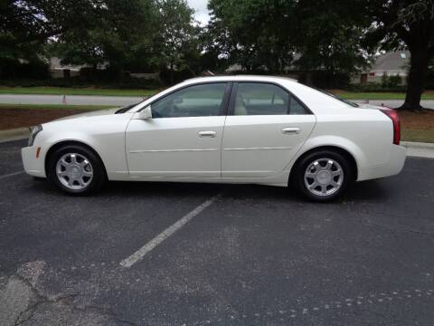 2004 Cadillac CTS for sale at BALKCUM AUTO INC in Wilmington NC