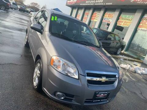 2011 Chevrolet Aveo for sale at Washington Auto Group in Waukegan IL