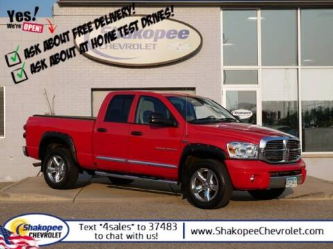 2007 Dodge Ram Pickup 1500 for sale at SHAKOPEE CHEVROLET in Shakopee MN