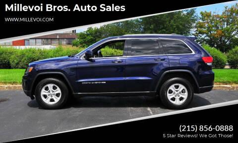 2015 Jeep Grand Cherokee for sale at Millevoi Bros. Auto Sales in Philadelphia PA