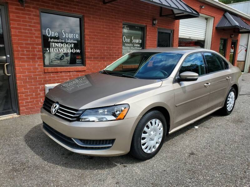 2015 Volkswagen Passat for sale at One Source Automotive Solutions in Braselton GA