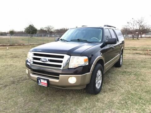 2013 Ford Expedition EL for sale at LA PULGA DE AUTOS in Dallas TX