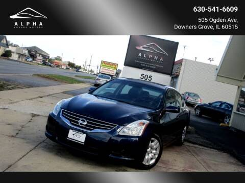 2012 Nissan Altima for sale at Alpha Luxury Motors in Downers Grove IL