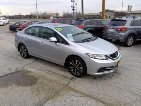2013 Honda Civic for sale at Regency Motors Inc in Davenport IA