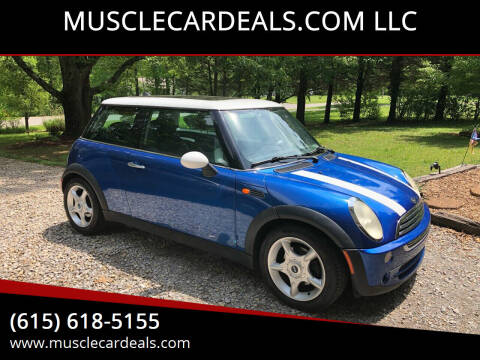 2005 MINI Cooper for sale at MUSCLECARDEALS.COM LLC in White Bluff TN