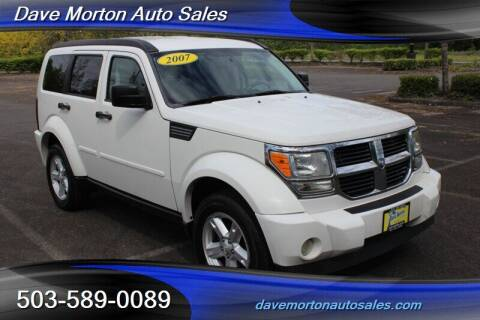2007 Dodge Nitro for sale at Dave Morton Auto Sales in Salem OR