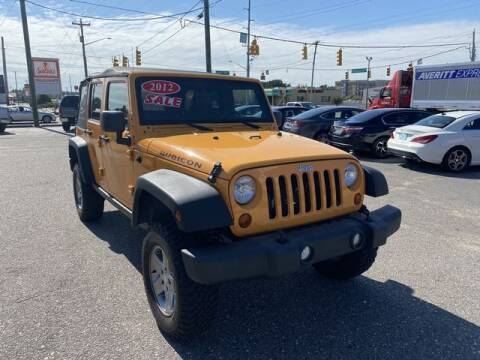 2012 Jeep Wrangler Unlimited for sale at Sell Your Car Today in Fayetteville NC