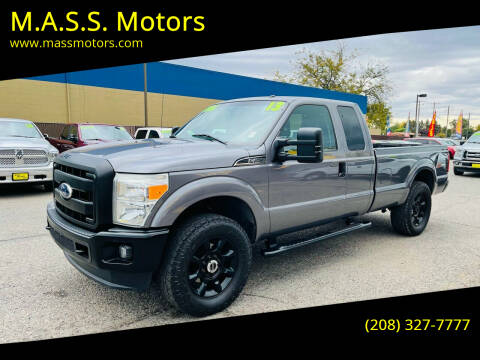2013 Ford F-250 Super Duty for sale at M.A.S.S. Motors in Boise ID