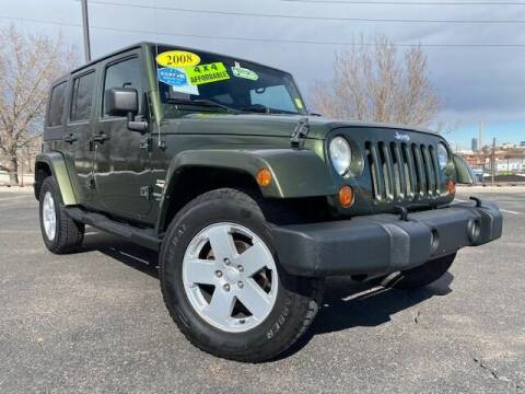 2008 Jeep Wrangler Unlimited for sale at UNITED Automotive in Denver CO