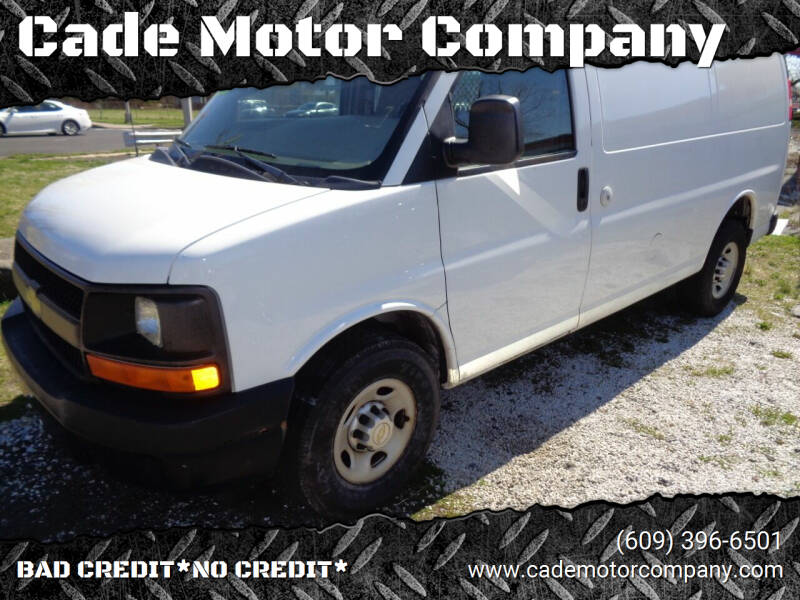 2011 Chevrolet Express Cargo for sale at Cade Motor Company in Lawrenceville NJ