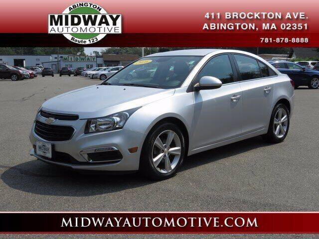 2016 Chevrolet Cruze Limited for sale in Abington, MA