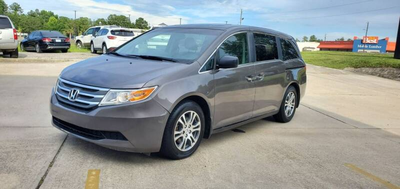 2013 Honda Odyssey for sale at WHOLESALE AUTO GROUP in Mobile AL
