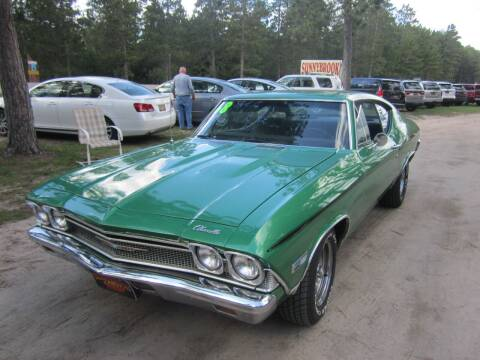 1968 Chevrolet Chevelle for sale at SUNNYBROOK USED CARS in Menahga MN