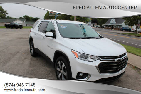 2018 Chevrolet Traverse for sale at Fred Allen Auto Center in Winamac IN