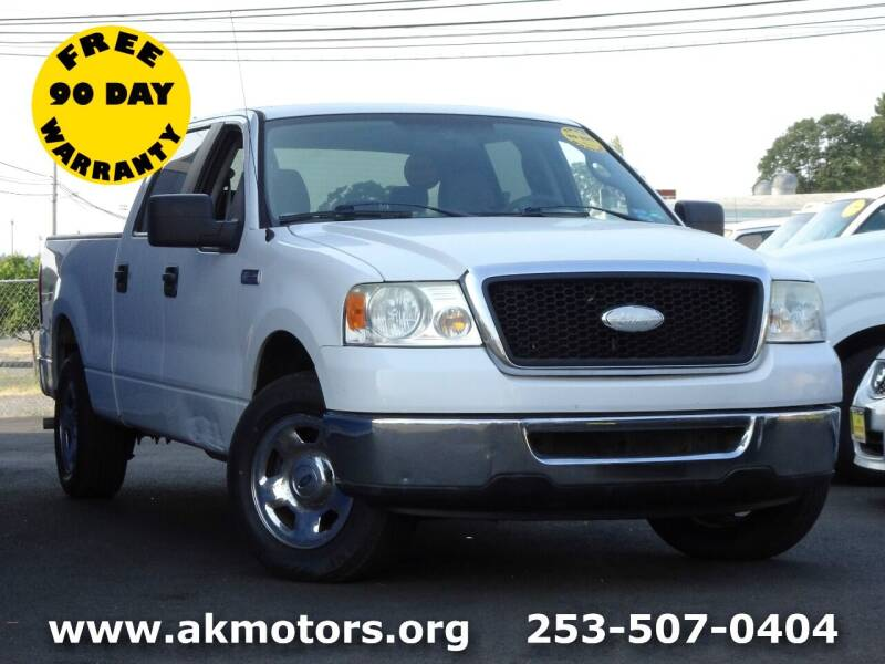 2007 Ford F-150 for sale at AK Motors in Tacoma WA