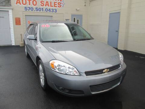 2006 Chevrolet Impala for sale at Small Town Auto Sales in Hazleton PA