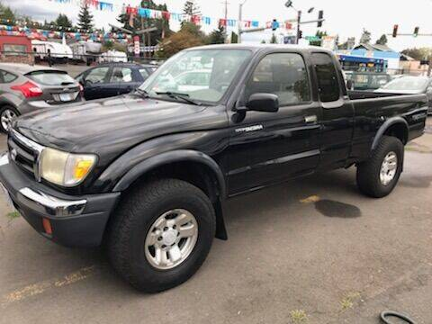 1999 Toyota Tacoma for sale at Chuck Wise Motors in Portland OR