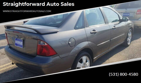 2007 Ford Focus for sale at Straightforward Auto Sales in Omaha NE