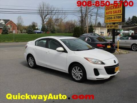 2012 Mazda MAZDA3 for sale at Quickway Auto Sales in Hackettstown NJ