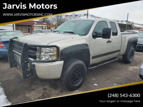 2008 Chevrolet Silverado 1500 for sale at Jarvis Motors in Hazel Park MI