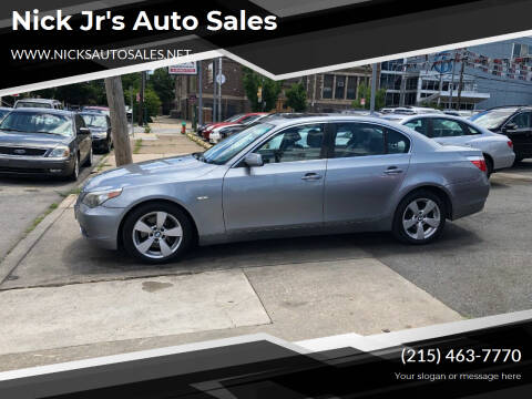 2007 BMW 5 Series for sale at Nick Jr's Auto Sales in Philadelphia PA