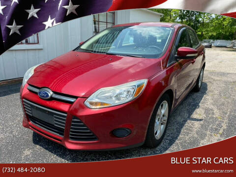 2013 Ford Focus for sale at Blue Star Cars in Jamesburg NJ