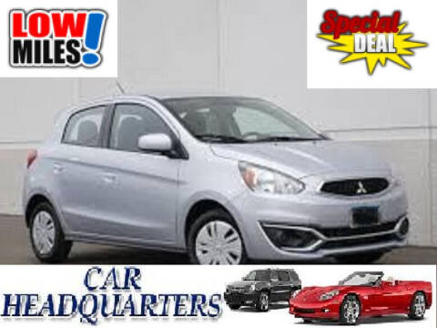 2018 Mitsubishi Mirage for sale at CAR  HEADQUARTERS in New Windsor NY