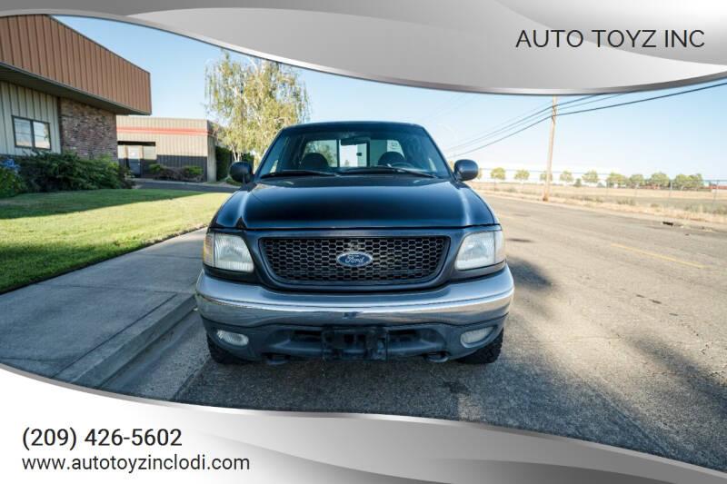 2000 Ford F-150 for sale at Auto Toyz Inc in Lodi CA