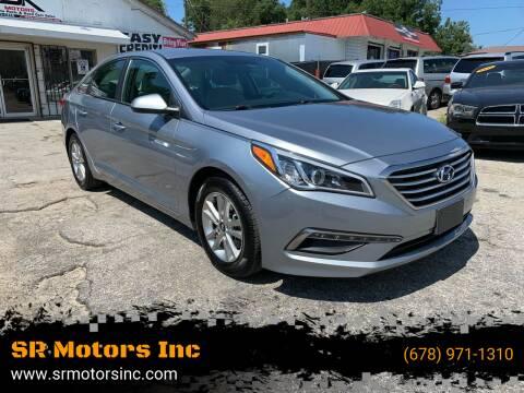 2015 Hyundai Sonata for sale at SR Motors Inc in Gainesville GA