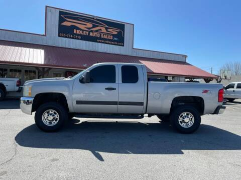 2008 Chevrolet Silverado 2500HD for sale at Ridley Auto Sales, Inc. in White Pine TN