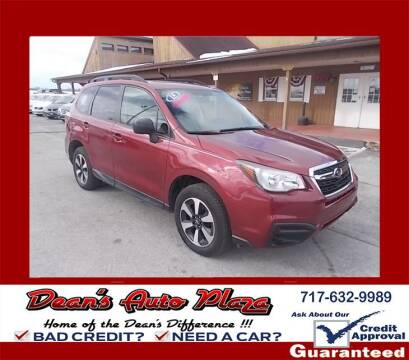 2018 Subaru Forester for sale at Dean's Auto Plaza in Hanover PA