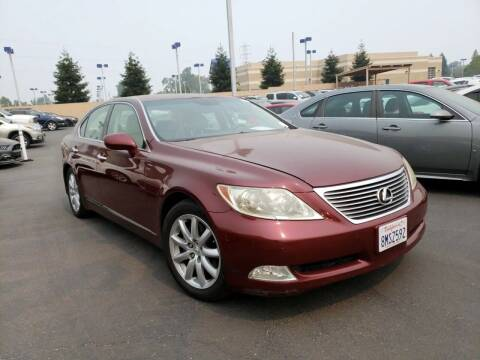 2007 Lexus LS 460 for sale at MCHENRY AUTO SALES in Modesto CA