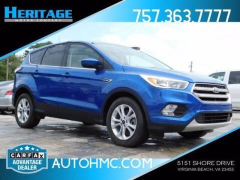 2017 Ford Escape for sale at Heritage Motor Company in Virginia Beach VA