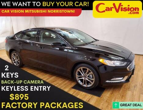 2017 Ford Fusion for sale at Car Vision Mitsubishi Norristown in Trooper PA