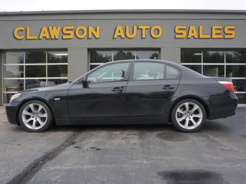 2005 BMW 5 Series for sale at Clawson Auto Sales in Clawson MI