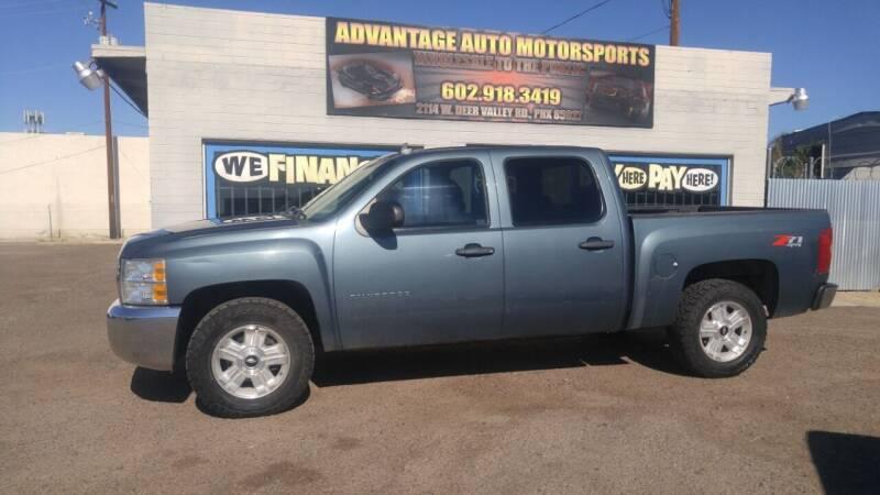 2013 Chevrolet Silverado 1500 for sale at Advantage Auto Motorsports in Phoenix AZ