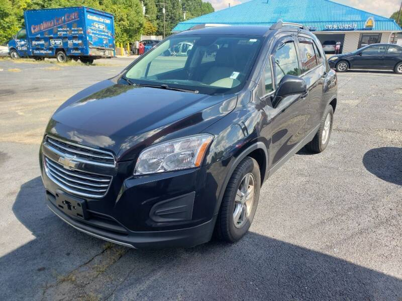 2016 Chevrolet Trax for sale at Lara's Auto Sales LLC in Concord NC