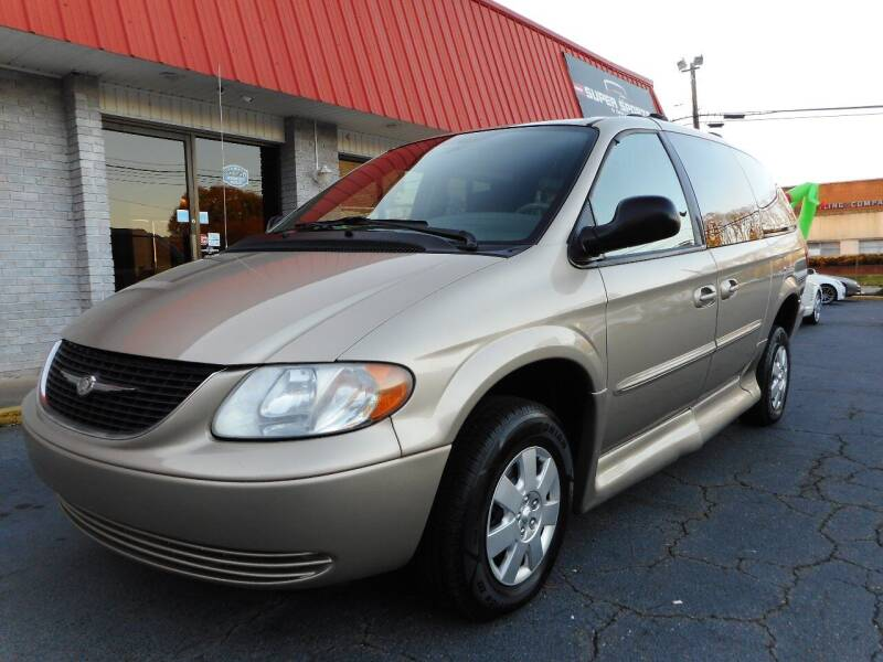 2003 Chrysler Town and Country for sale at Super Sports & Imports in Jonesville NC