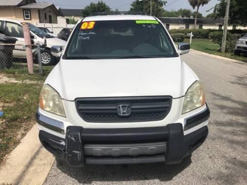 2003 Honda Pilot for sale at Castagna Auto Sales LLC in Saint Augustine FL