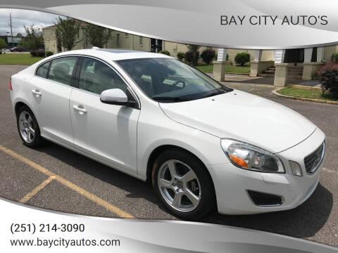 2013 Volvo S60 for sale at Bay City Auto's in Mobile AL