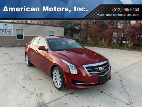 2017 Cadillac ATS for sale at American Motors, Inc. in Farmington MN