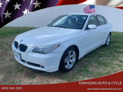 2006 BMW 5 Series for sale at Dawsons Auto & Cycle in Glen Burnie MD