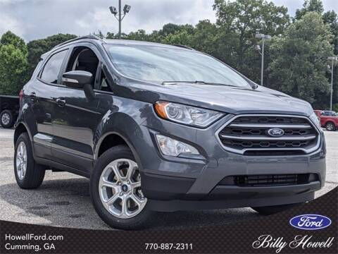 2021 Ford EcoSport for sale at BILLY HOWELL FORD LINCOLN in Cumming GA