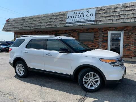 2013 Ford Explorer for sale at Allen Motor Company in Eldon MO