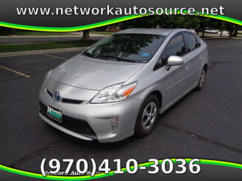 2015 Toyota Prius for sale at Network Auto Source in Loveland CO